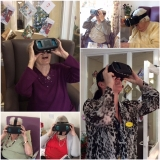 Care home residents given a virtual glimpse of the future