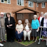 Senses are sharp in our care home garden