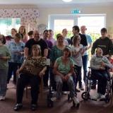 Choir raises voices at Birch Green