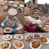 Homemade pizzas on the menu at Birch Green
